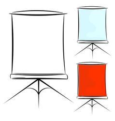 screen eps10 vector image vector image