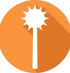 Medieval Mace Icon vector image vector image