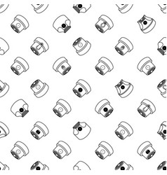 abstract graffiti spray caps assorted seamless vector image