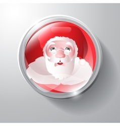 Christmas icon cartoon vector image