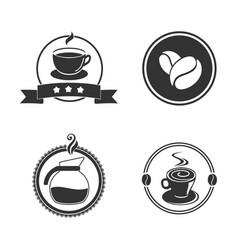 Coffee emblem vector
