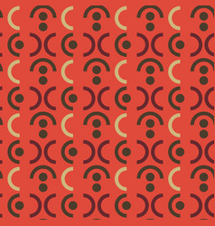 Explosive symmetry seamless pattern vector
