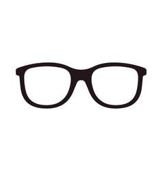Glasses icon eyeglasses for nerd spectacles vector