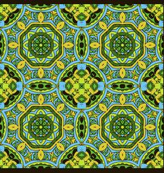 oriental ornament relaxing mandala doodle vector image