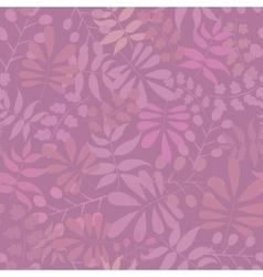 Seamless leaf pattern vector