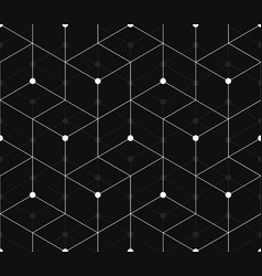 Seamless pattern of triangles and rhombuses vector