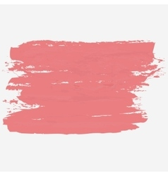 Brush strokes hand paint texture vector image