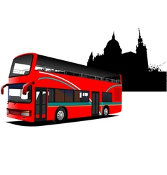 n0341 bus02 vector image vector image