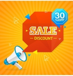 Big Sale Label vector image vector image