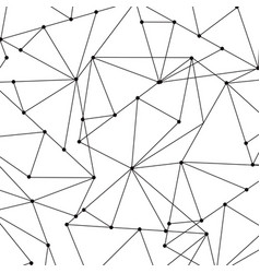 Abstract geometric background with polygons vector