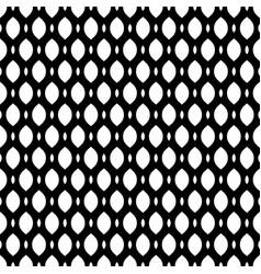 Black white seamless pattern mesh lattice vector