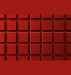 design a background with flying red squares vector image