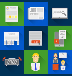 Icons search vector