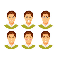 Man emotions 2 vector