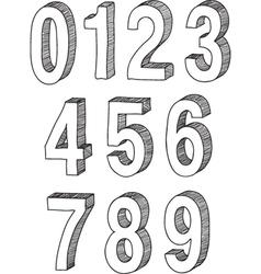 Numbers sketch vector