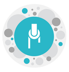 Of tools symbol on pulley icon vector