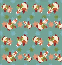 Seamless Christmas pattern - vector image vector image