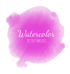 set of watercolor background 9 vector image