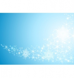 sparkling stars vector image