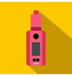 Vape device icon flat style vector