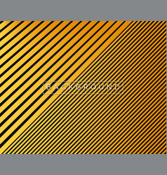 Wrapping stripes pattern gold striped background vector