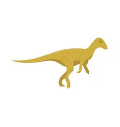 dinosaur cartoon cute funny monster cartoon vector image