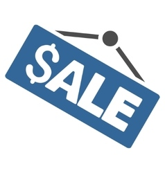 Sale Signboard Flat Icon vector image vector image