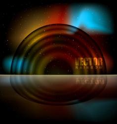 rainbow sparks vector image vector image