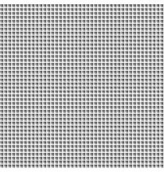 Black white mosaic background vector image vector image