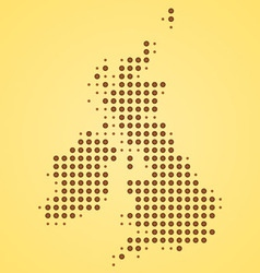 Britain Map vector image