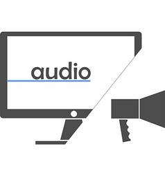 - audio vector image