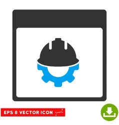 Development Calendar Page Eps Icon vector