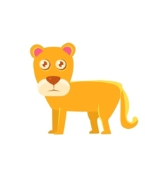 Lioness Toy Exotic Animal Drawing vector