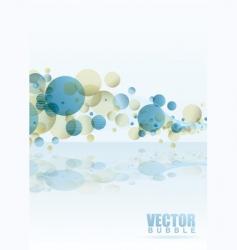 Rainbow subtle bubble vector