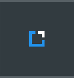 square symbol design inspiration vector image
