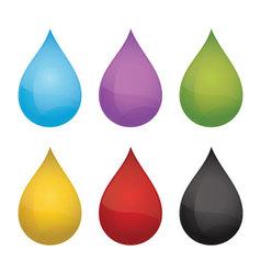 drops vector image