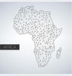 geometric africa madagascar continent light vector image