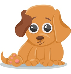 Baby dog puppy cartoon vector