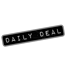Daily Deal rubber stamp vector