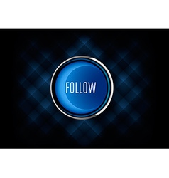 Follow button vector