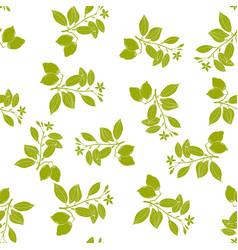 fresh lemon seamless pattern vector image