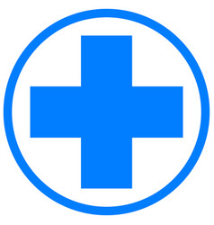 Medical cross health and medicine vector