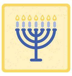 menorah vector image
