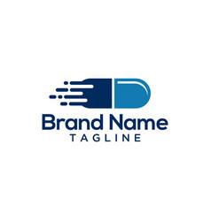 Pharmacy logo template vector