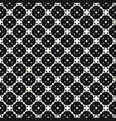 seamless pattern geometric monochrome texture vector image