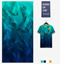 Soccer jersey pattern design geometric pattern vector