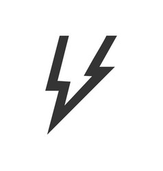 Thunder icon vector