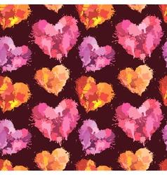 heart klaksa seaml 380 vector image vector image