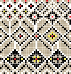 Balkan pattern vector