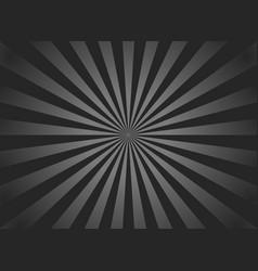 black sunburst background retro background vector image